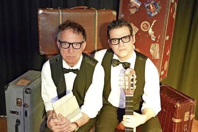 Herr Bug (Edwin Bug) und Herr Gottlieb (Raphael Gottlieb) in Emmendingen