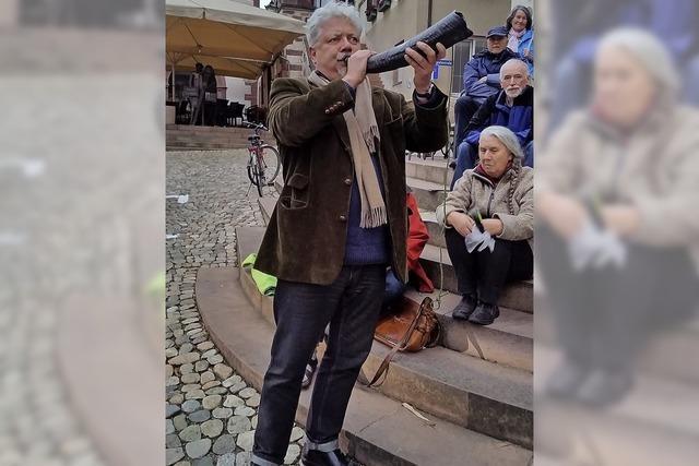 Trompeter und Natur-Hornist Jörg Alexander Kuenzer in Eschbach
