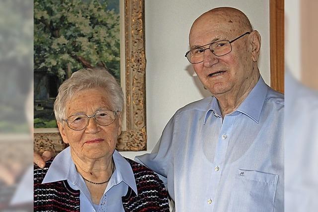 Gertrud und Josef Benz sind eisern verheiratet