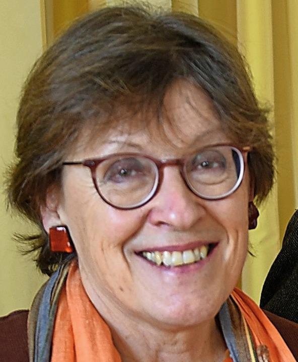 Christine Ableidinger-Günther setzt  d...ch entstandene Idee in Steinen mit um.  | Foto: Robert Bergmann