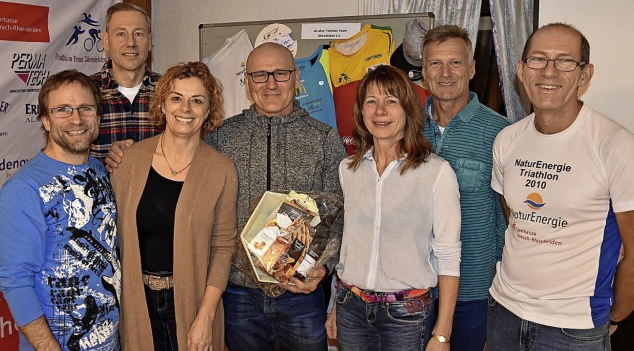 Tolle Sportler (von links): Andreas Sa...tmeyer und der Vorsitzende Hans Winzen  | Foto: Heinz und Monika Vollmar