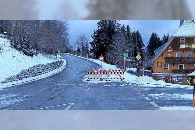Höchste Passstraße im Land gesperrt