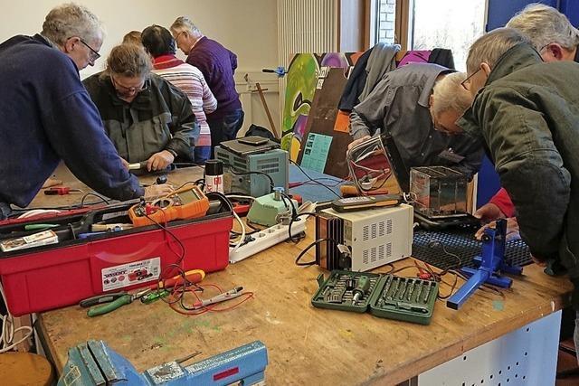 Am Samstag findet die 50. Ausgabe des Repair-Cafés statt