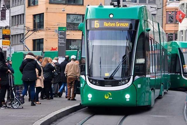 Basler Verkehrs-Betriebe planen 10-Minuten-Takt nach 20 Uhr