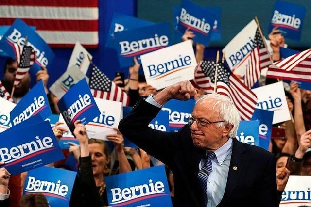 Sanders gewinnt zweite Vorwahl im US-Präsidentschaftsrennen knapp