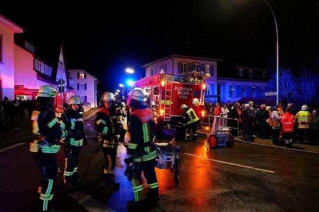 Feuerwehr übt Ernstfall in der Kirche