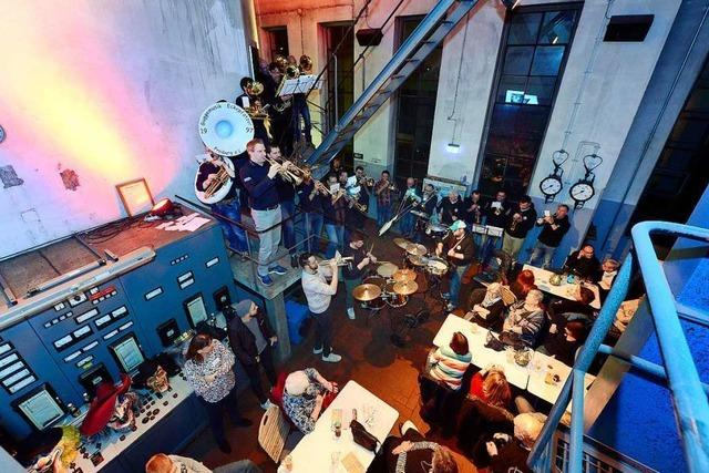 Die Eckepfätzer spielen für BZ-Leser in der Brauerei Ganter