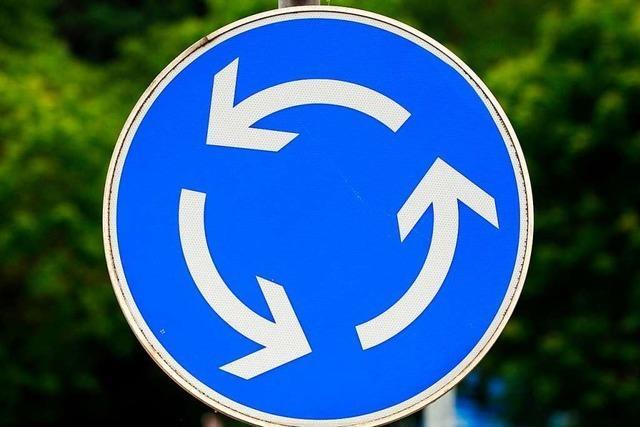 In Neuenburg werden drei Kreisverkehre an der Anschlussstelle zur A5 gebaut