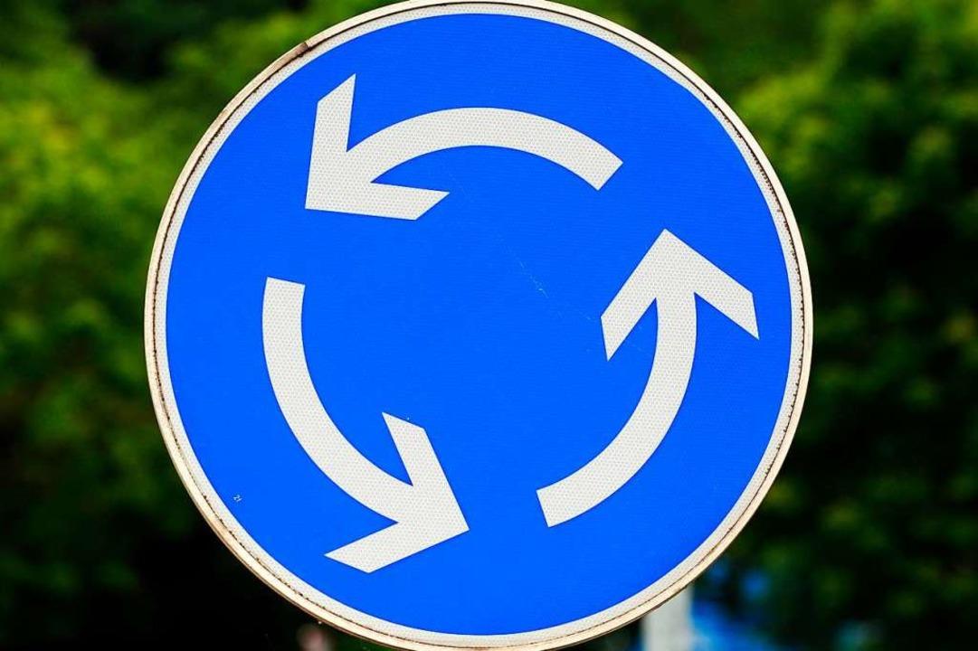 Die Kreisverkehre sollen zu Stoßzeiten entlasten.  | Foto: Patrick Seeger