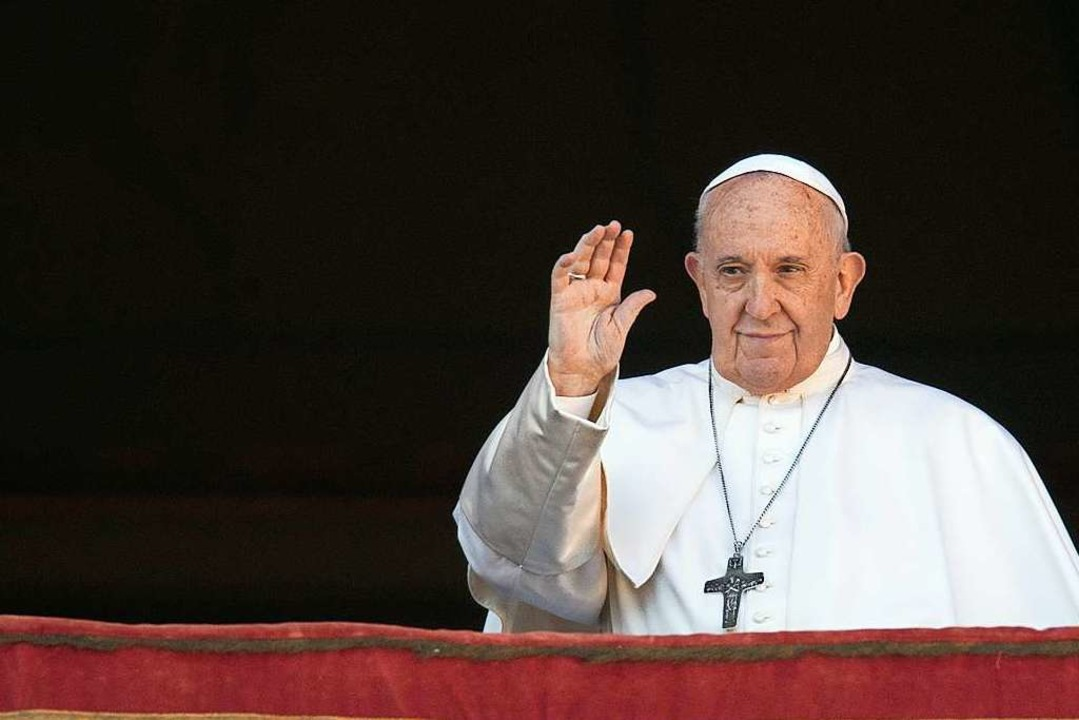 Der Vatikan stellte am 12. Februar das...hlussdokument der Amazonas-Synode vor.  | Foto: Alessandra Tarantino (dpa)