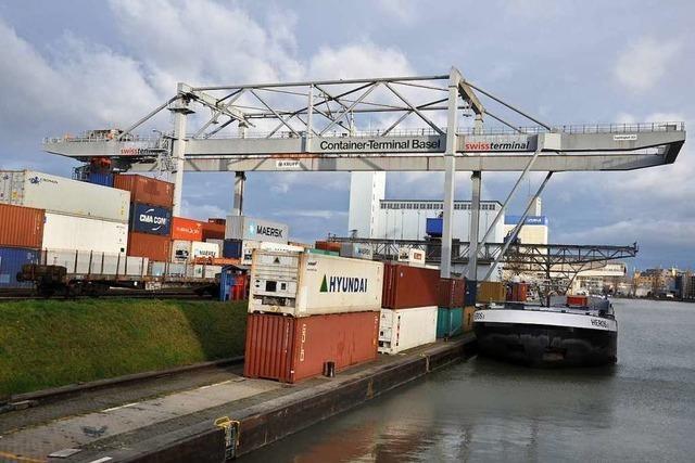 Großer Rat billigt 115 Millionen Franken für ein neues Hafenbecken