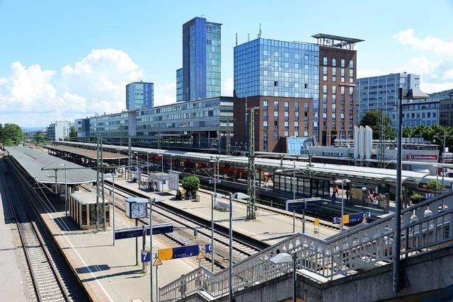 52-Jähriger widersetzt sich Polizisten am Hauptbahnhof Freiburg