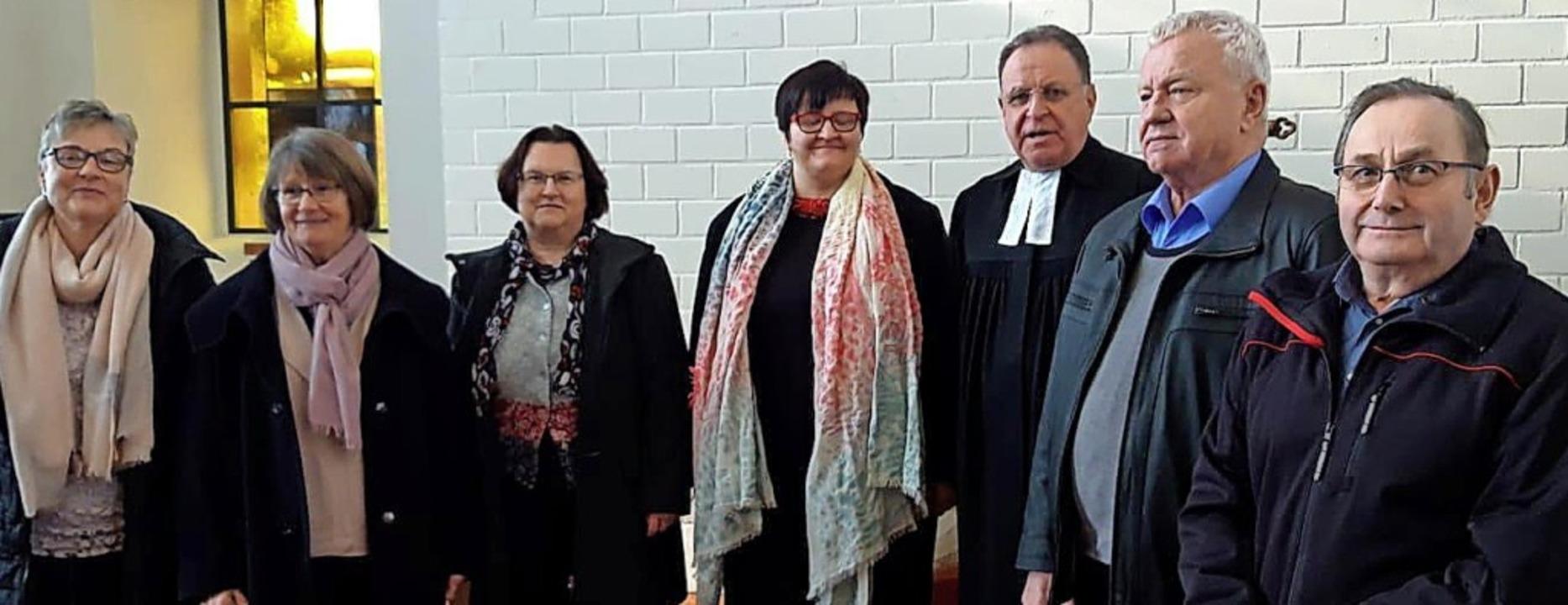 Der neue Rat (von links):  Christina B...nze, Jürgen Wolf, Karlheinz Strohmeier  | Foto: Privat
