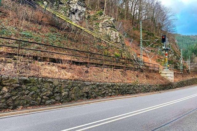 Bahnlinien im Hochschwarzwald bleiben nach Sturmschäden noch weitere Tage lahmgelegt