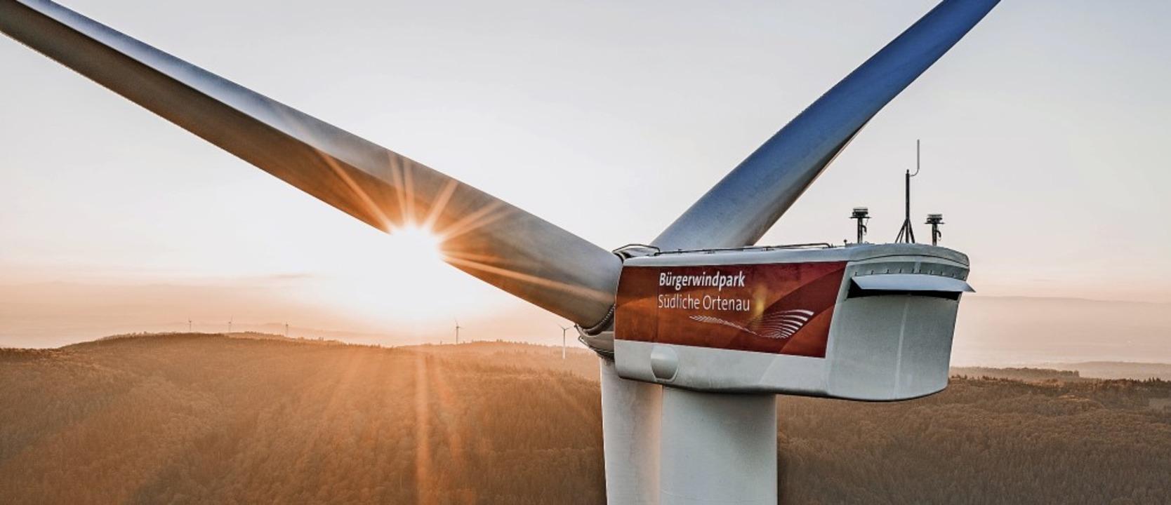 In der Ortenau drehen sich die Rotoren...ie Windkraftnutzung in den Gemeinden.     Foto: Joscha Bold