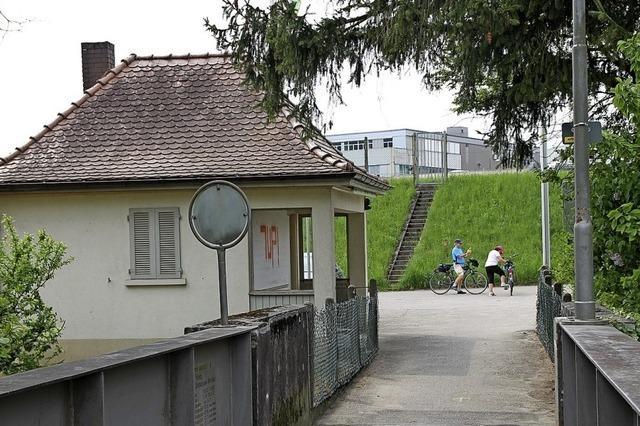 Neuer Beton für die Brücke zur Schweiz