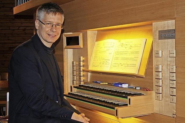 Leichtigkeit und Klangmacht an der Orgel