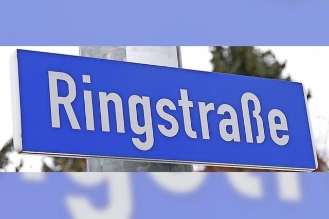 Ringstraße wird zwei Jahre lang zur Großbaustelle