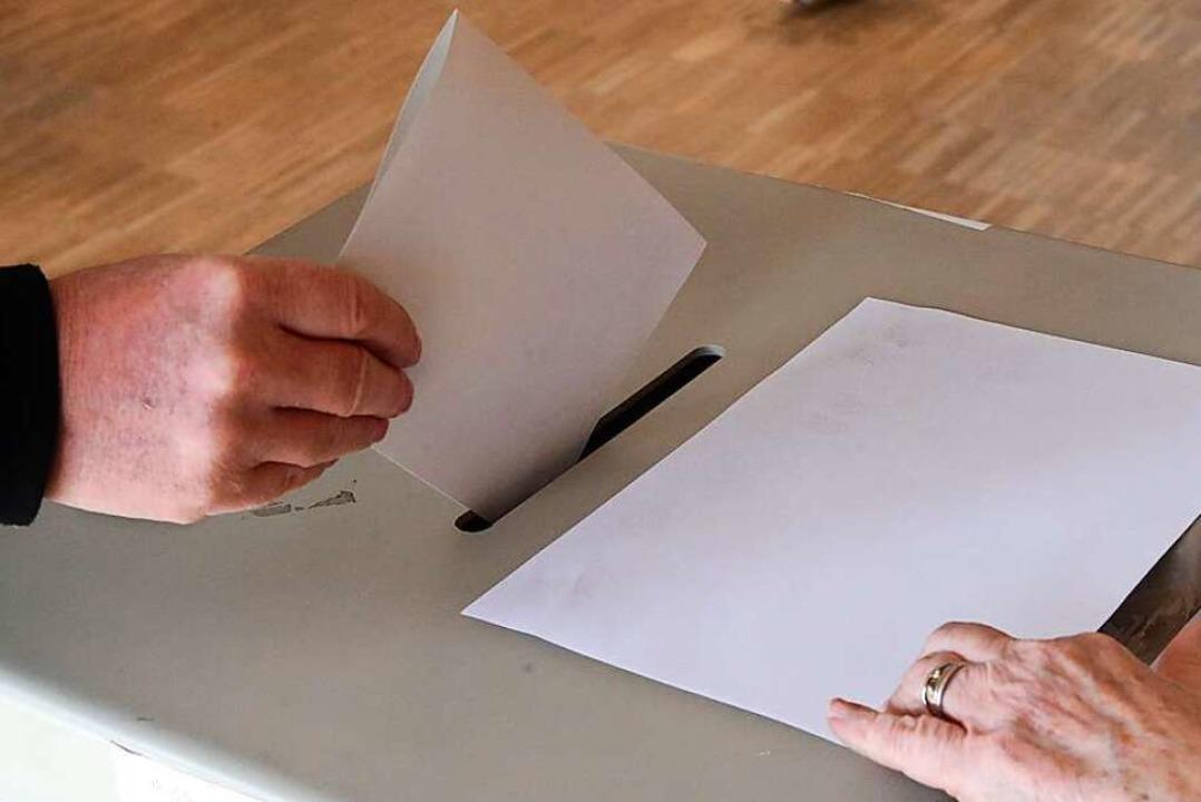 Von 8 bis 18 Uhr kann am Sonntag gewählt werden.  | Foto: Bodo Schackow