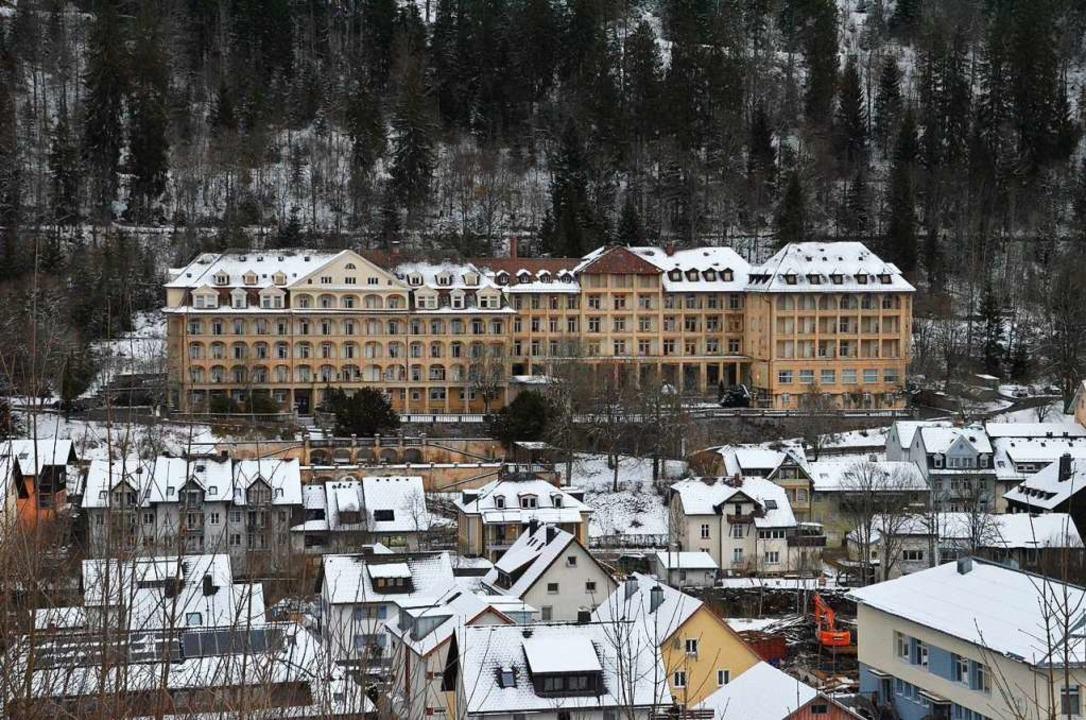 Das ehemalige Sanatorium wird mögliche...r Verlagerung nach Waldkirch zustimmt.  | Foto: Luis Kimmel