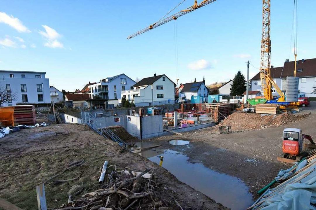 Verträglich zur Umgebungsbebauung soll... weite Teile des alten Ortes erstellt.    Foto: Markus Zimmermann