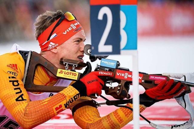 Benedikt Doll von der Skizunft Breitnau will bei der WM