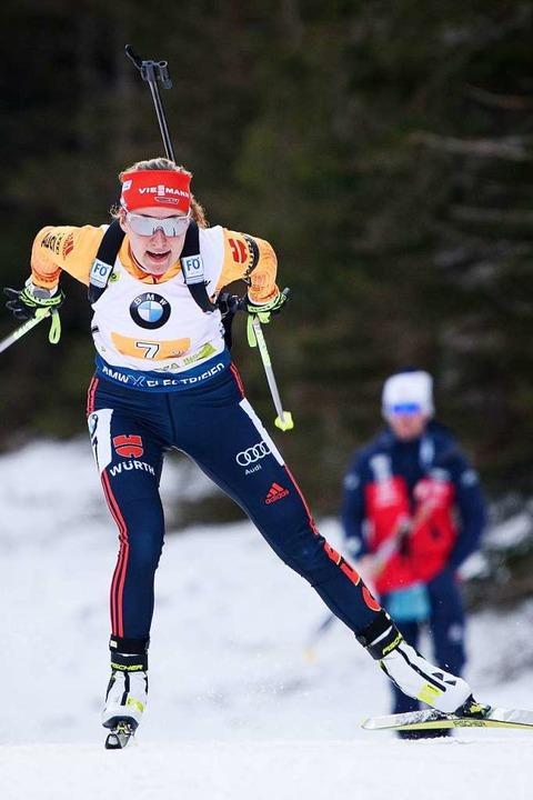 Janina Hettich    Foto: JURE MAKOVEC (AFP)