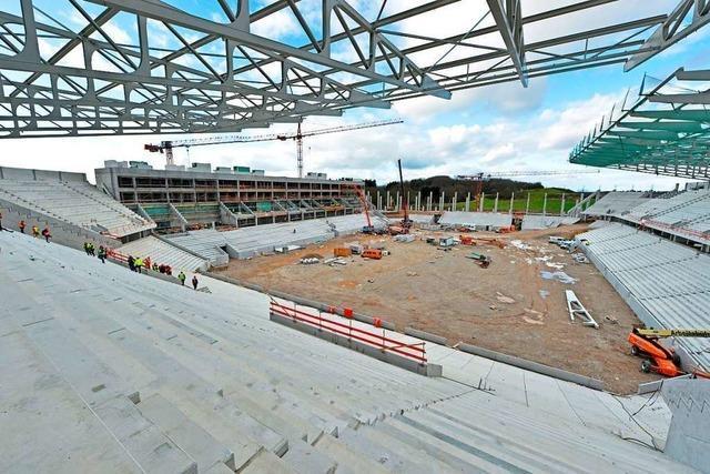 Zeitplan für das neue SC-Stadion bleibt sehr sportlich
