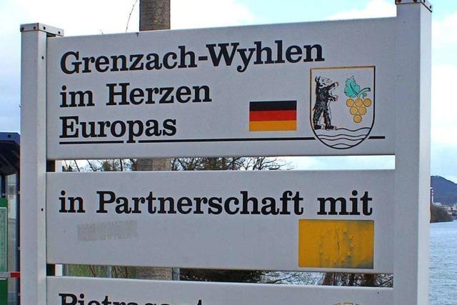 Grenzach-Wyhlen setzt ein Zeichen für Europa