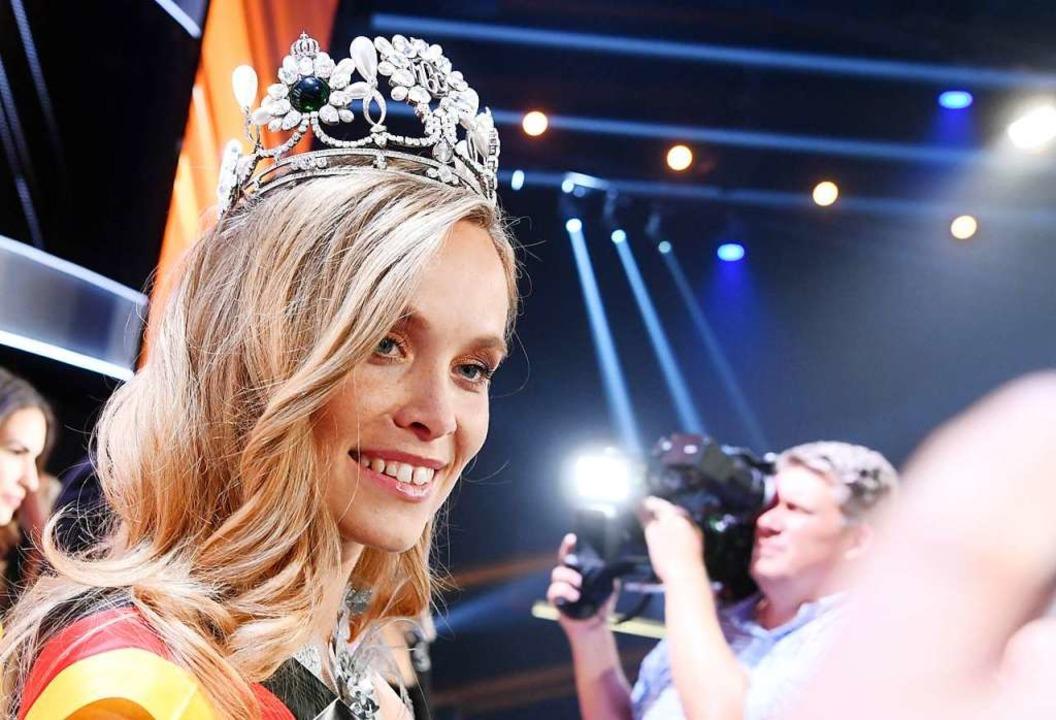 Nadine Berneis blickt auf ein Jahr als Schönheitskönigin zurück.  | Foto: Uli Deck