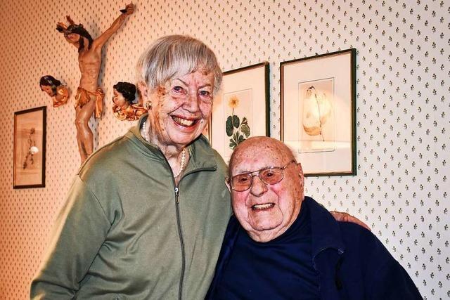 Dieses Ehepaar ist seit 80 Jahren verheiratet