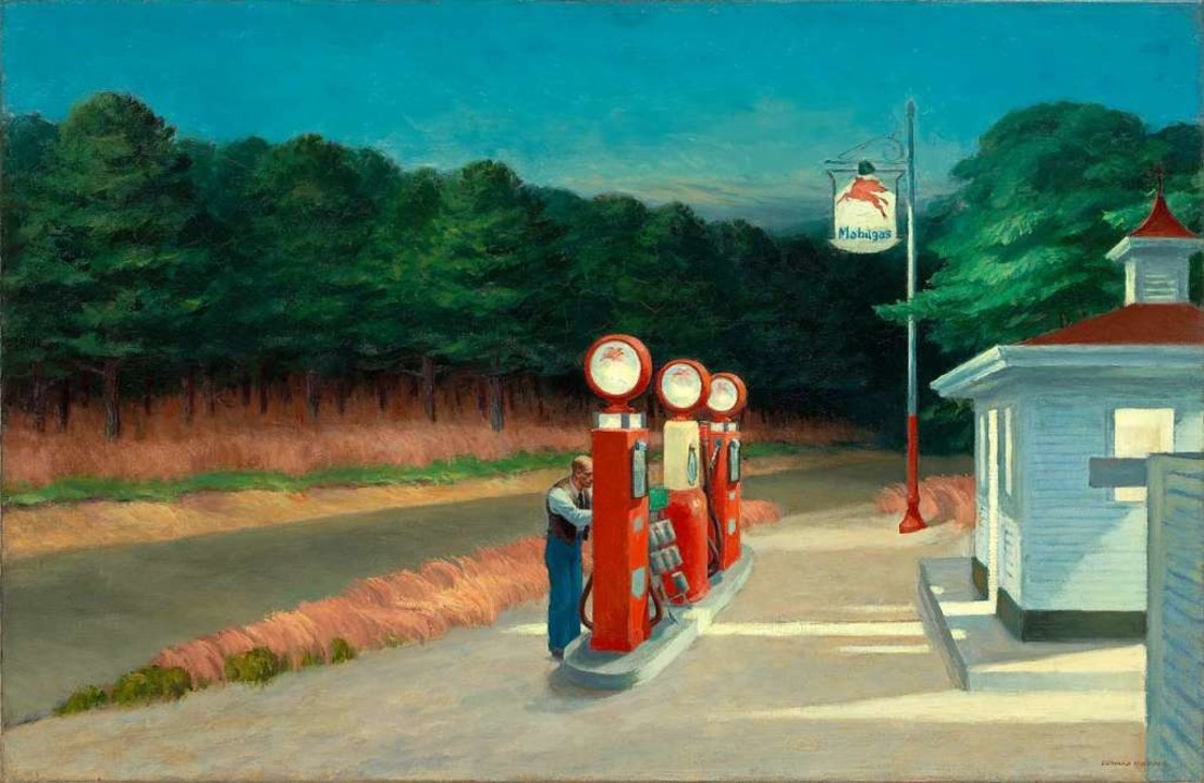"Edward Hopper entzauberte in seinen Ge...mmer ""eine Erfindung"" war.  