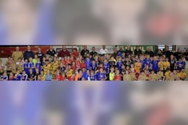 650 Nachwuchsfußballer kicken um die Stadtmeisterschaft