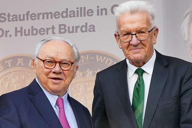 Hubert Burda ist 80 – und feiert im XXL-Format