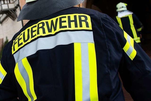 Balkonbrand in Freiburg verursacht 20.000 Euro Schaden