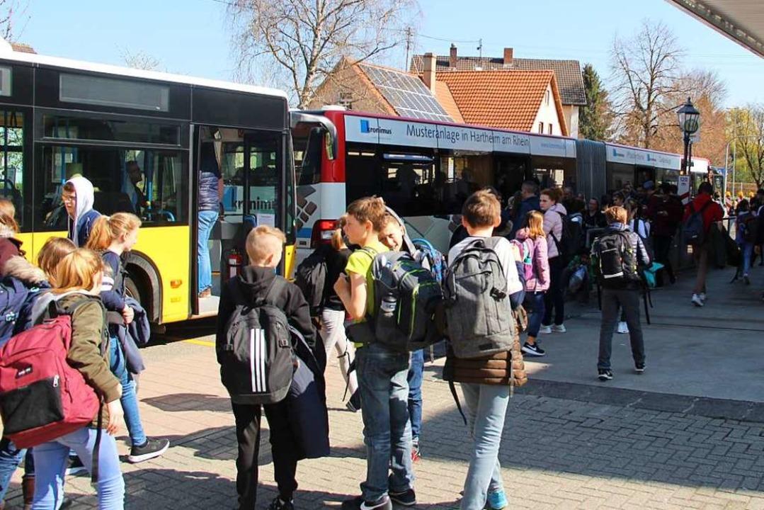 Die S-Bahnen auf der Elztalstrecke werden ab 1. März durch Busse ersetzt.  | Foto: Horst David