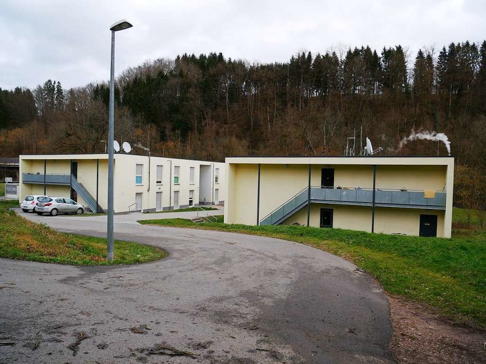 In der Gemeinschaftsunterkunft Egerten...Geflüchtete weiterhin Obdach in Wehr.   | Foto: Michael Gottstein