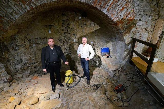 Fachleute zeigen im Freiburger Museum für Stadtgeschichte live, wie Archäologie funktioniert