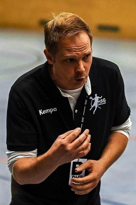 Noch sechs Spiele als Dreiland-Coach: ...pielgemeinschaft aus Lörrach und Weil.  | Foto: Gerd Gruendl