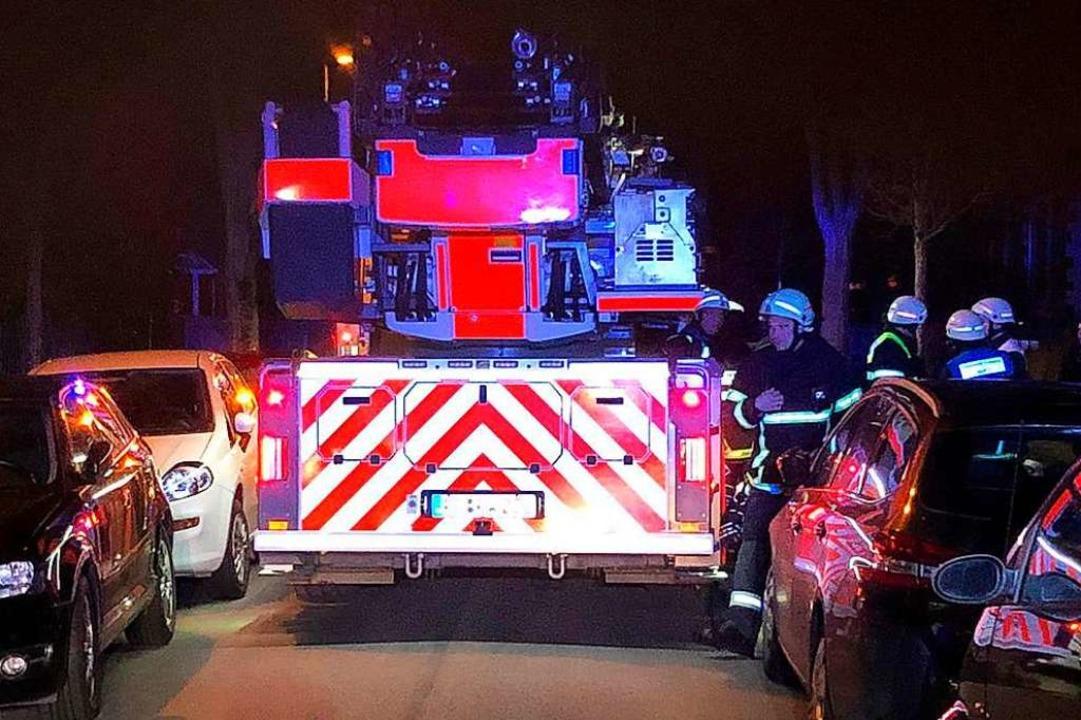 Die Zufahrt war für die Feuerwehr alles andere als leicht.  | Foto: Andreas von Döhren