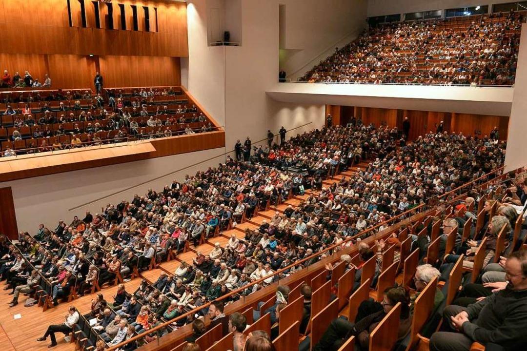 Der Rolf-Böhme-Saal im Konzerthaus: We...he abschnittsweise verstellen lässt...  | Foto: Ingo Schneider