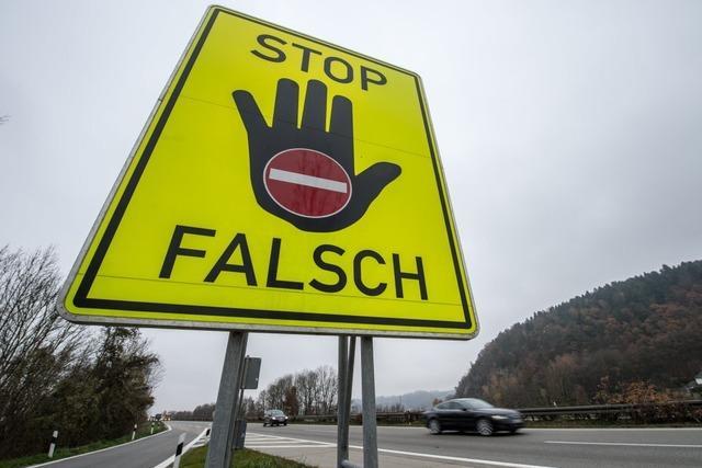 81-jähriger Geisterfahrer verursacht Chaos auf der B 3 zwischen Emmendingen und Freiburg