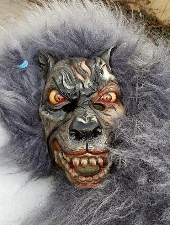 Ein Bad Krozinger Werwolf  | Foto: Privatarchiv Werwölfe