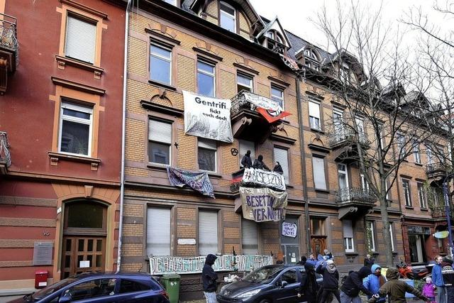 Zoff um Freiburger Mietshaus