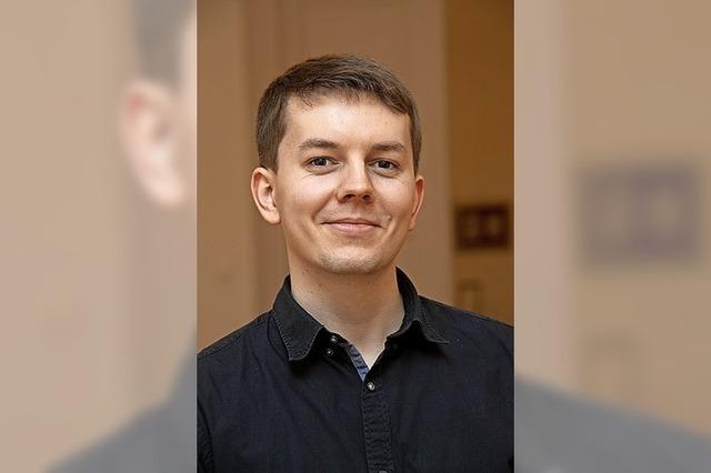 22-jähriger Martin Klinger ist neuer Hauptamtsleiter