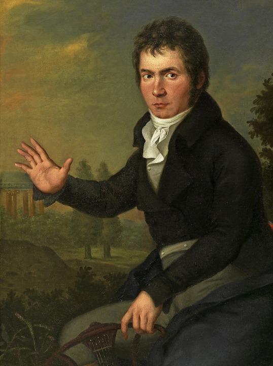 Ludwig van Beethoven. Porträt von Willibrord Joseph Mähler (um 1804/05)  | Foto: Wien Museum