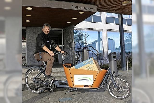 Lasten-E-Bike für kleinere Transporte