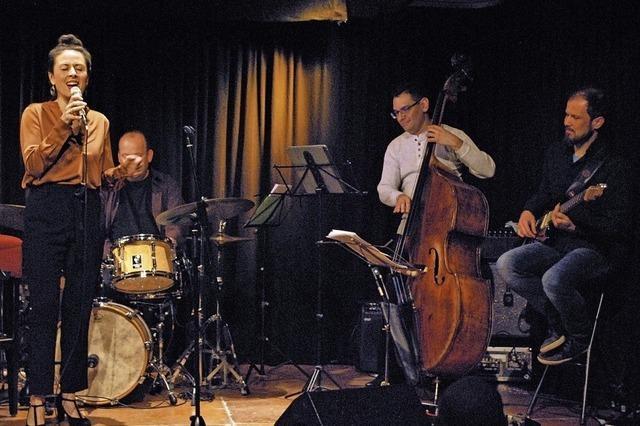 Große Stimme in der Jazz-Werkstatt