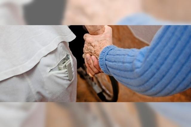 Der Bedarf an Pflege wächst