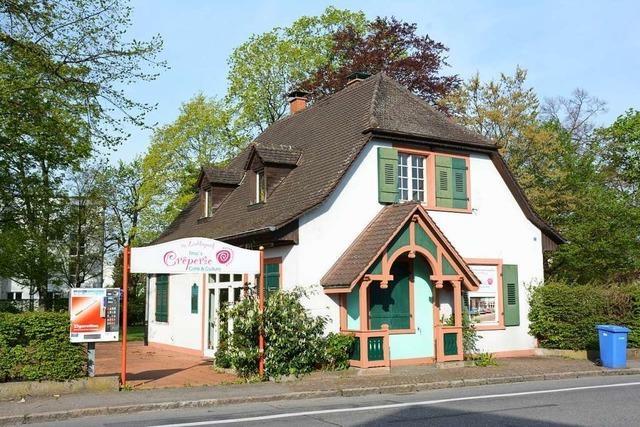 Das Café am Läublinpark in Weil am Rhein hat geschlossen